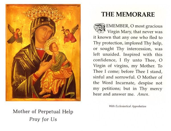 Association Of Catholic Women Bloggers: The Memorare