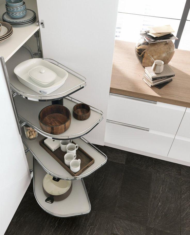 Oltre 20 migliori idee su ripiani per cucina su pinterest for Cestelli estraibili per cucina ad angolo