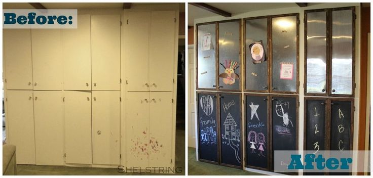Chalkboard Paint Kitchen