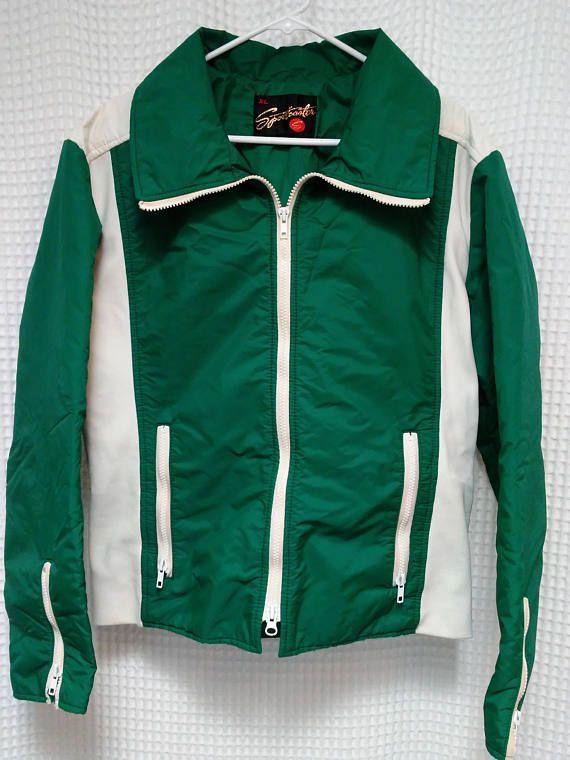 cfa2e808779a 60 s Ski Jacket vintage Sportscaster 1960 s mountain coat Ladies XL ...