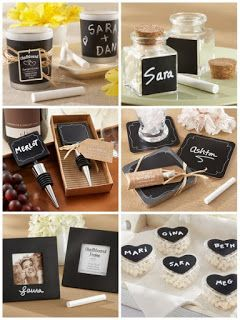 Chalkboard Party Favors for Wedding and Party from HotRef.com #chalkboardpartyfavors