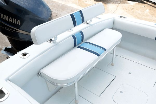 Here are six ways to add seating aboard any sport-fishing boat. #HookedOnLakeMartin #BoatSeating