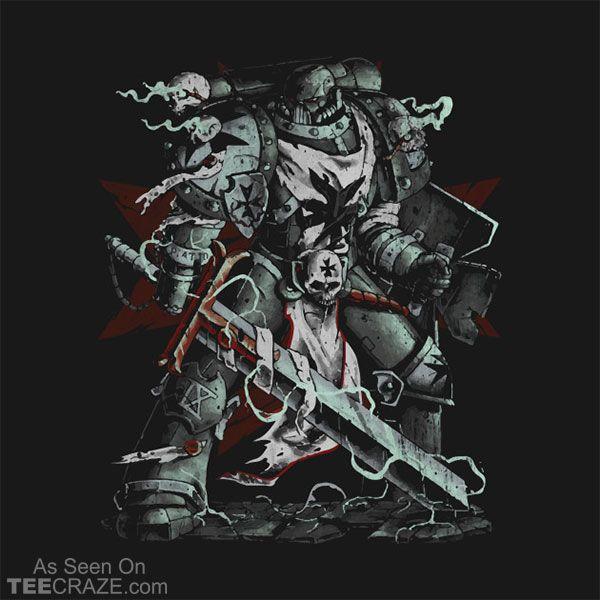 Black Templar T-Shirt  #TeeCraze #art