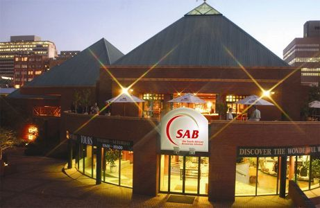The SAB World of Beer in Newtown © South African Breweries Limited