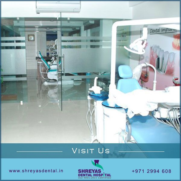 We offer the latest technology to make your visit safe, efficient and effective with the highest quality of care possible. Contact us today and schedule a consultation.  #dentalimplants #dentist #ShreyasDental #Ahmedabad http://www.shreyasdental.in
