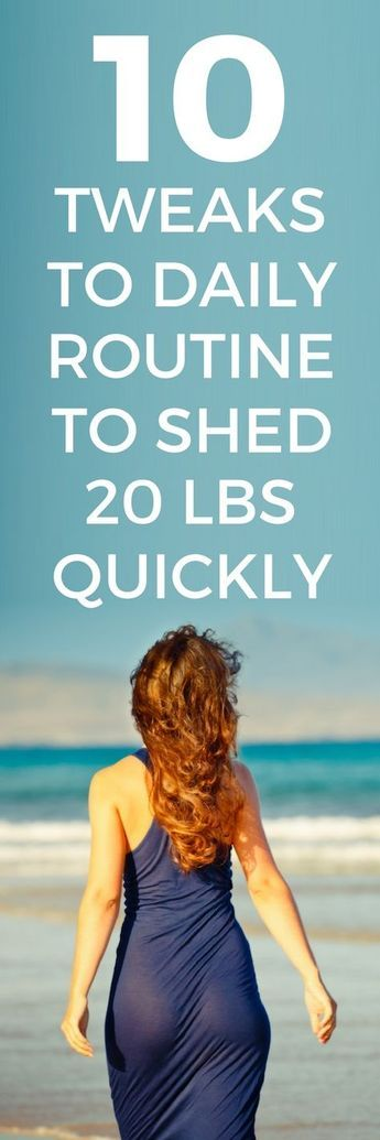 10 daily tweaks to your daily routine to lose maximum weight.