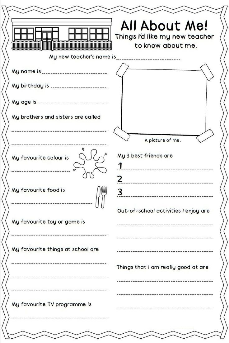 Worksheets Personal Information Worksheets 1000 images about personal information on pinterest all me worksheet