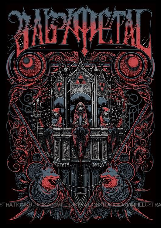 #Babymetal - #YuiMetal - #MoaMetal - #SuMetal (530×750)