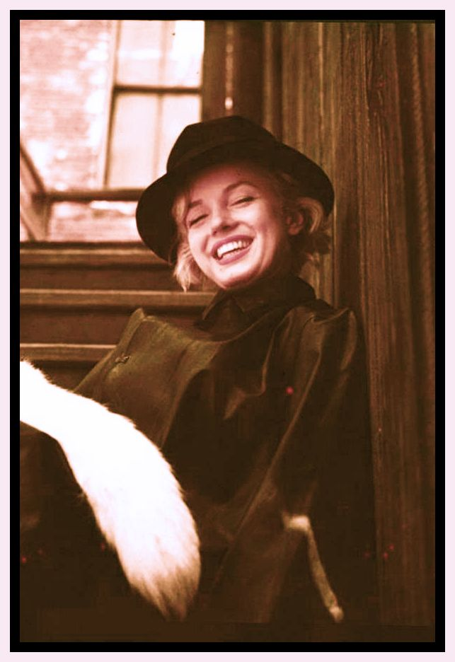 Marilyn Monroe photographed by Milton Greene 1954. Natural look for once, and…