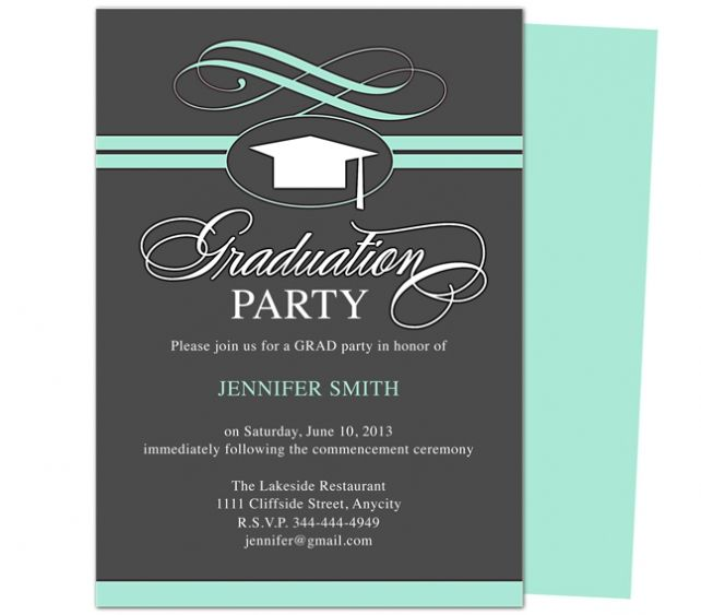 Grad Party Invites to inspire you in making unique party invitation wording 140
