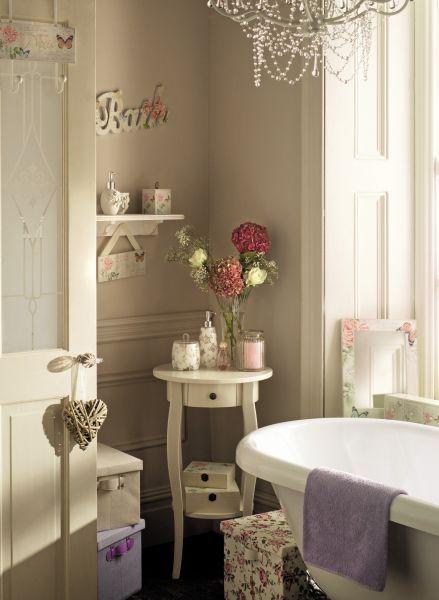 Bathroom shaby chic pinterest ba os ba o y decoraci n for Pinterest decoracion banos
