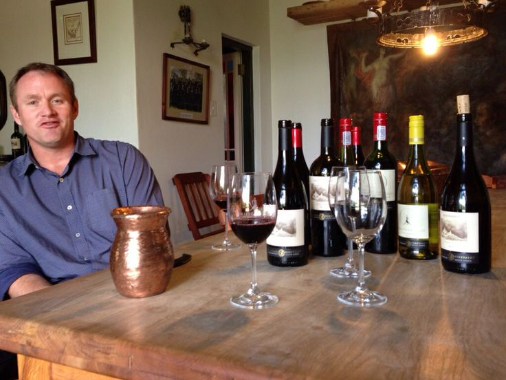 Eddie Smit of Vriesenhof Vineyards
