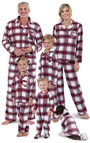 111e064c97 PajamaGram Fireside Fleece Button-Front Matching Family Pajamas Matching  Family Christmas Pjs