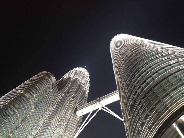 Twin towers in Malaysia