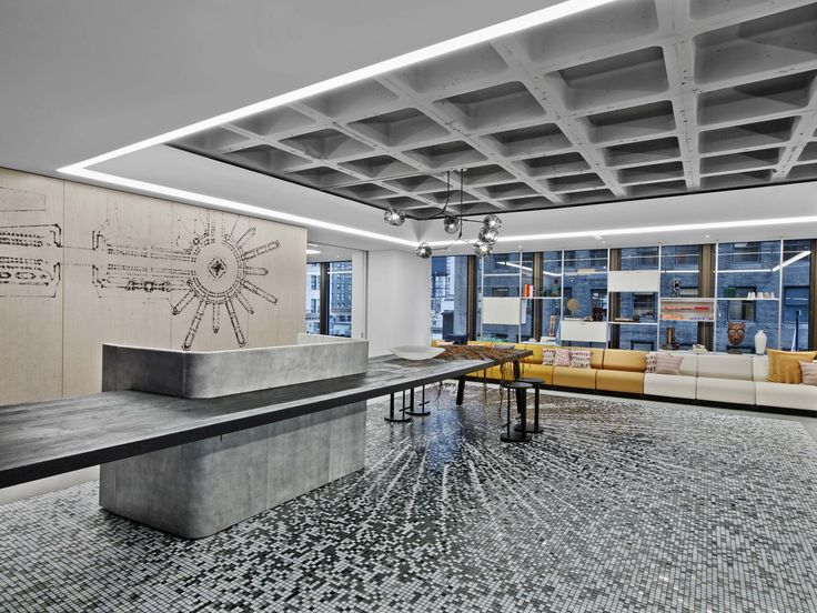 Office tour iida headquarters chicago commercial flooringcommercial designcommercial interiorsreception