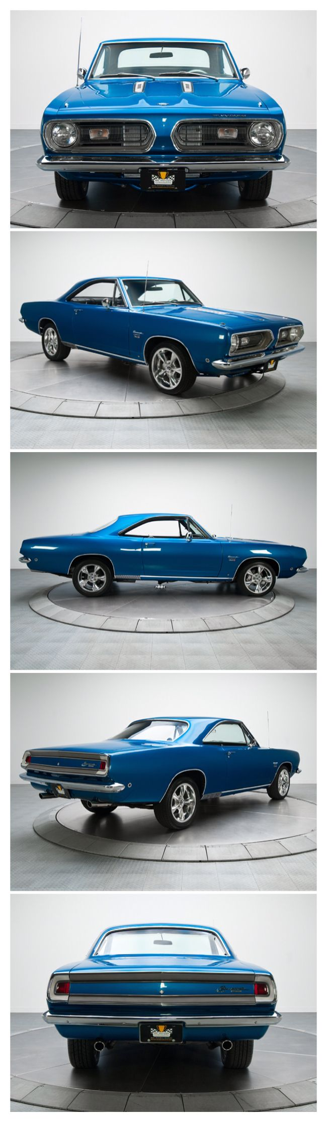 1968 Plymouth Barracuda..Re-pin...Brought to you by #CarInsurance at #HouseofInsurance in Eugene, Oregon