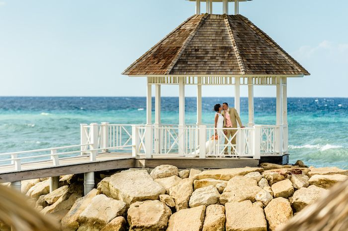 Doreen & David's destination wedding in Montego Bay, Jamaica. Photography by Michael Chen @destweds