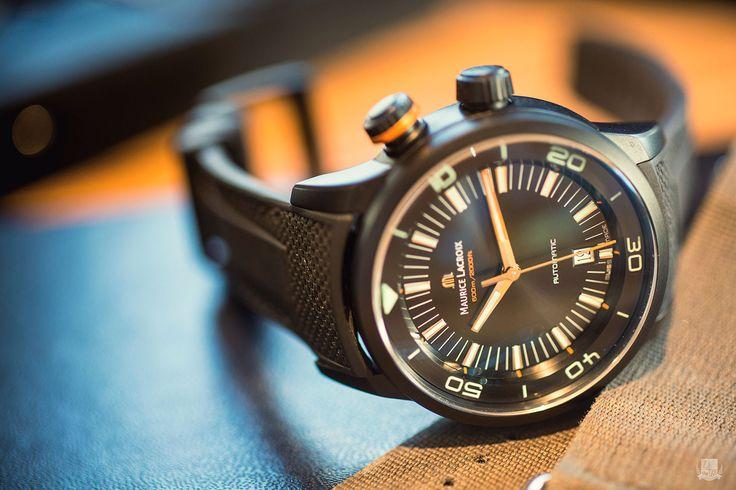 Maurice Lacroix Pontos S Diver : Montre de plongée moderne