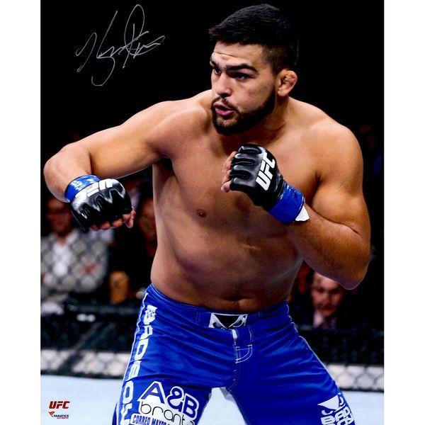 "Kelvin Gastelum Ultimate Fighting Championship Fanatics Authentic Autographed 16"" x 20"" Celebration Photograph - $39.99"