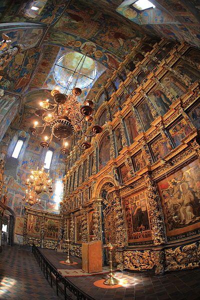 Church of Elijah the Prophet in Yaroslavl: Beauty Life, Church, Interiors, Art, Elijah, Architecture, Place, The Prophet, Russian Culture
