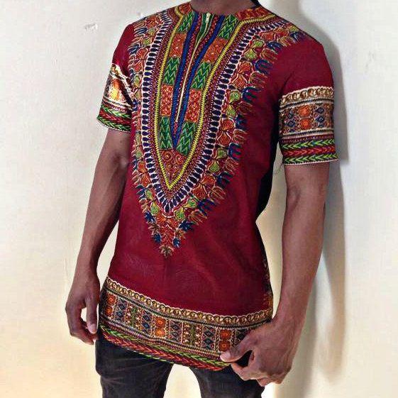 Men's dashiki shirt by EbonysDeelites on Etsy