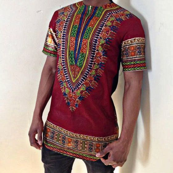 Men's dashiki shirt by EbonysDeelites on Etsy