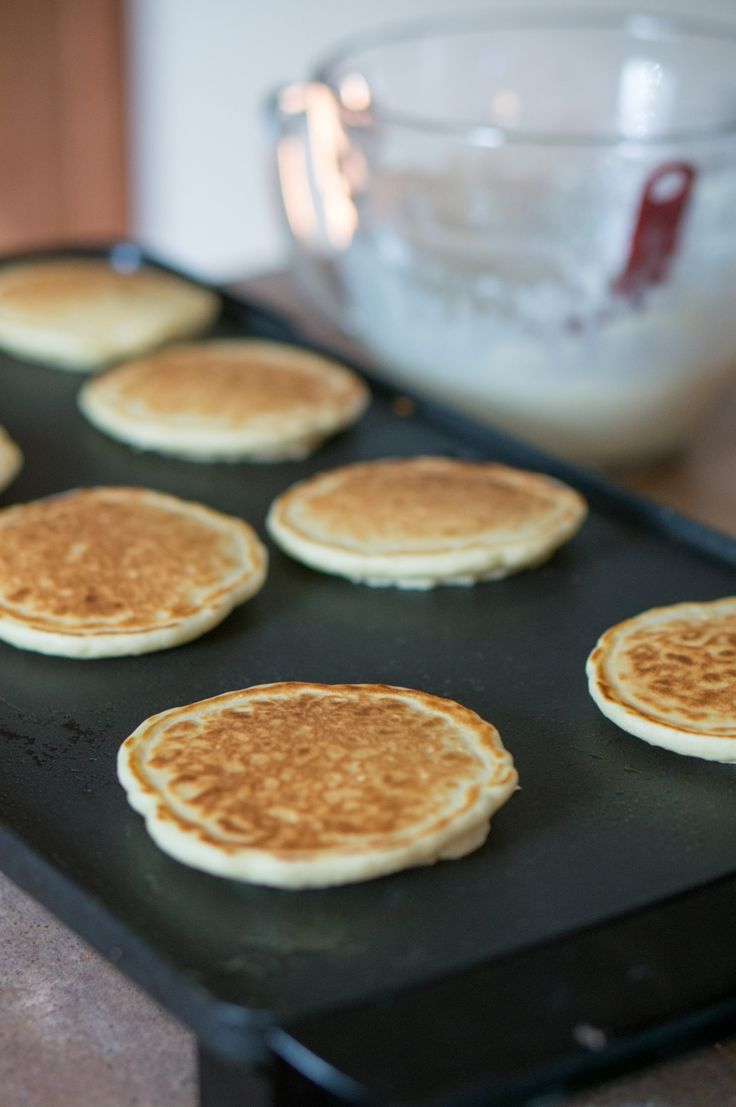 how to make sweet pancakes from scratch