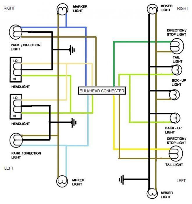 marker light wiring diagram 35 ford head light switch wiring diagram trailer light wiring  ford head light switch wiring diagram