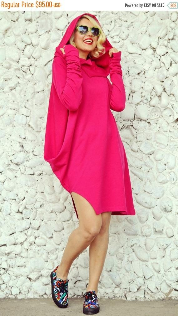 SALE 30% OFF Pink Hooded Shirt Fuchsia Sweatshirt Pink Loose https://www.etsy.com/listing/174282050/sale-30-off-pink-hooded-shirt-fuchsia?utm_campaign=crowdfire&utm_content=crowdfire&utm_medium=social&utm_source=pinterest