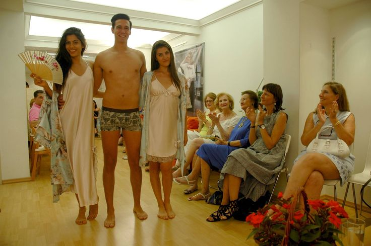In house presentation of Nota Lingerie Spring Summer 2015 collection (men's from Jockey International)