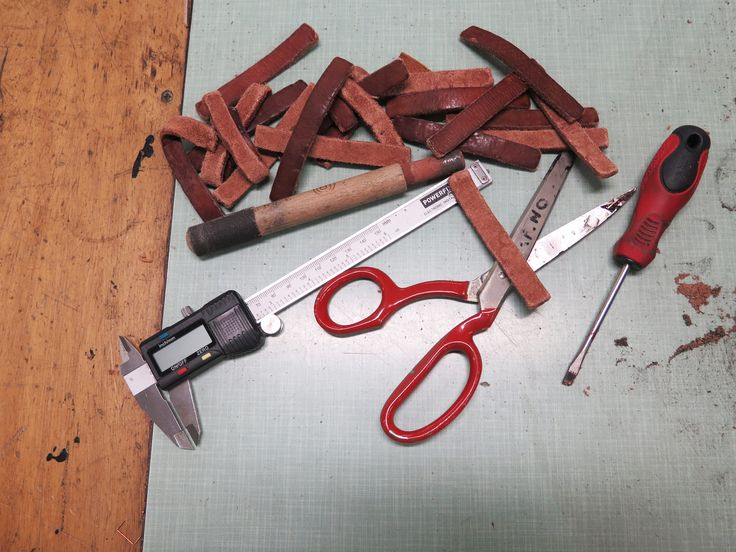 Tools for making leather goods
