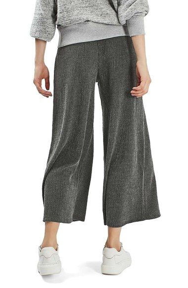 Main Image - Topshop Wide Leg Trousers