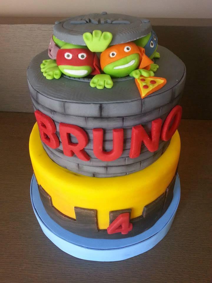 CHIQUI CAKES: Pastel Tortugas Ninja