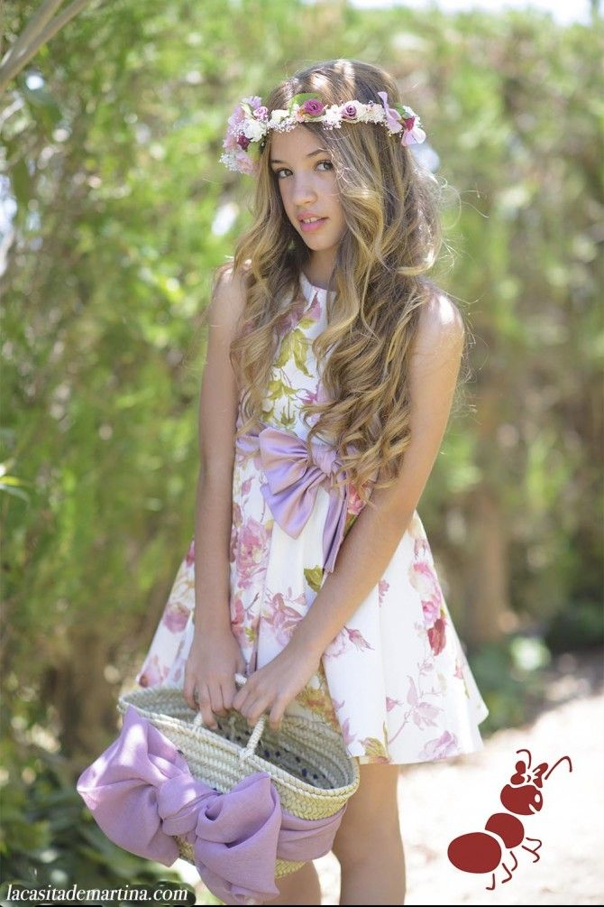La ormiga colecci n moda infantil primavera verano 2016 for Jardin infantil verano 2016