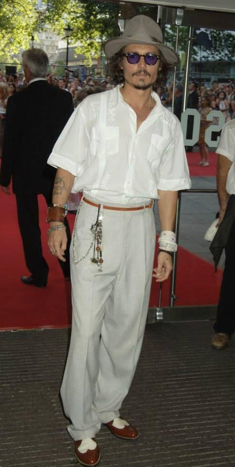 Johnny Depp Pirates premiere