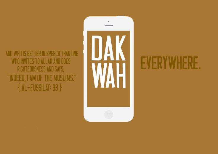 Dakwah! | Islamic quotes | Pinterest