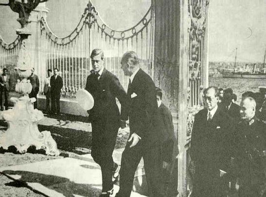 Mustafa Kemal Atatürk and Edward VIII