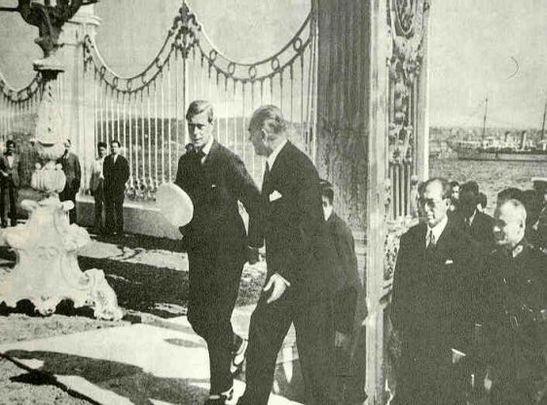 Mustafa Kemal Atatürk and Edward VIII
