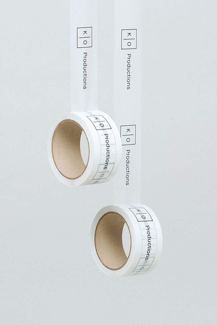 KO Productions by Post. #branding #design #boxtape