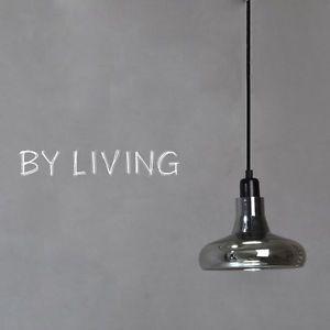 Contemporary-Smoky-Grey-Glass-Diameter-20cm-LED-Droplight-Pendant-Hanging-Lamp