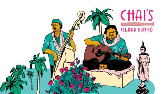 Hana Hou!: You may have to rub elbows with tourists, but it's worth it, once the Brothers Caz, Ledward Kaapana or Paula Fuga come on stage. Here's where to hear live Hawaiian music every night, and not just in town.