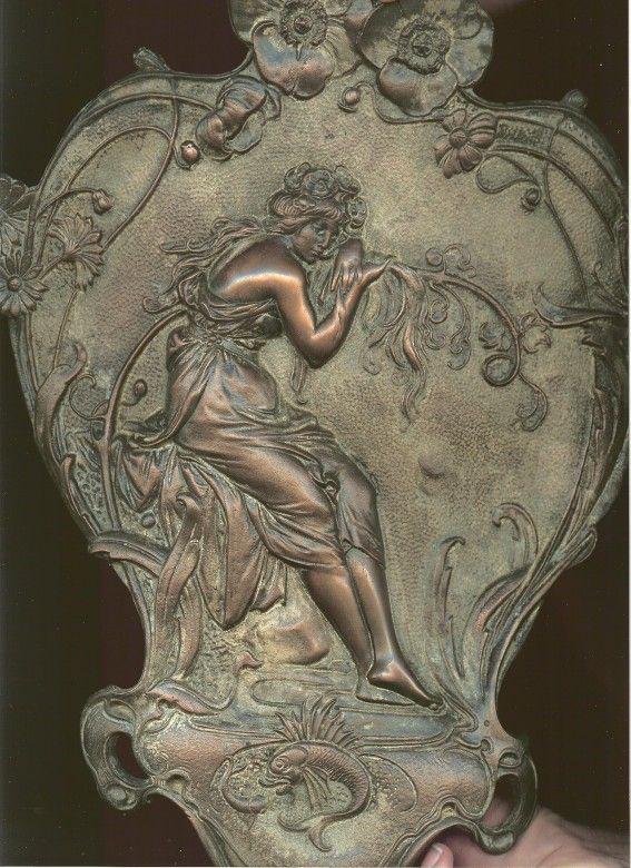art nouveau alphonse mucha summer tile Michelle Robison http://www.picturetrail.com/michellerobison
