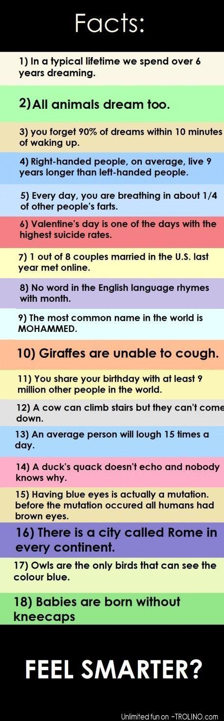 Feel smarter?