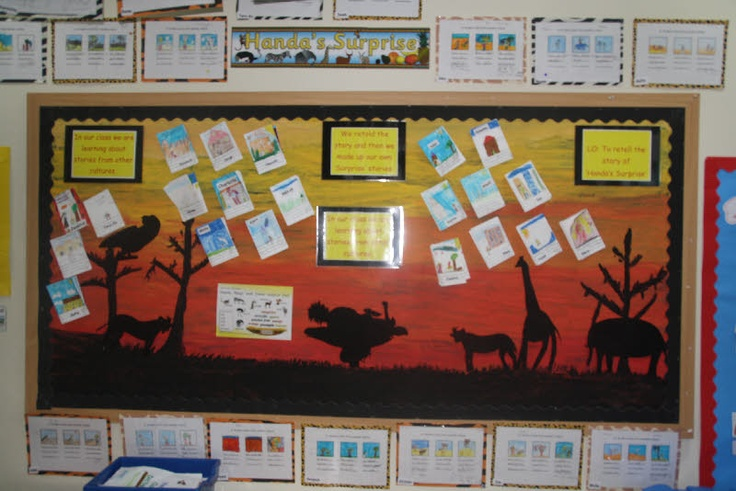 Stories from Africa - Handa's Surprise classroom display photo - Photo gallery - SparkleBox