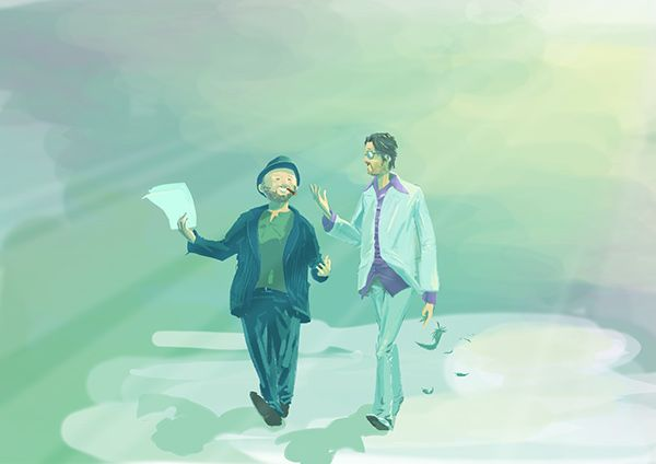Sketch of Today by Roberto Martinelli on Behance