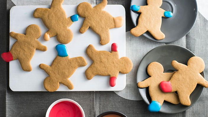 Anneka Manning's gingerbread men make are fun and full-of-character. Gift as a cheeky present this holiday season. Check out our Bakeproof column for tips and recipes.