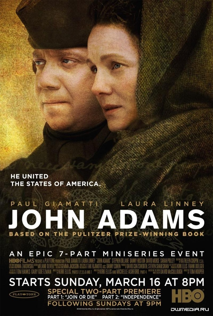 John Adams is one of the best mini-series that HBO has done. I can watch this over and over.