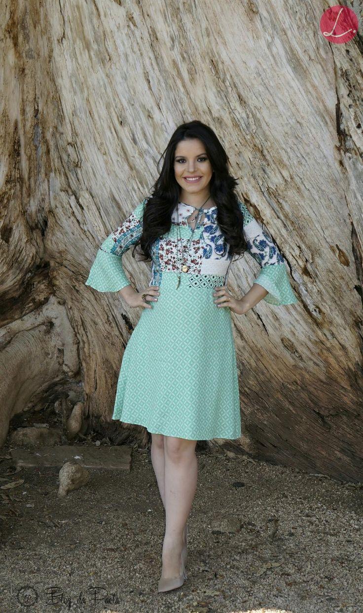 Look do Dia: Vestido Linda Valentina | Blog da Paola