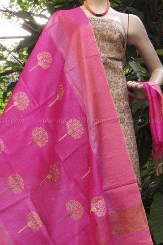 Designer Silk Unstitched Suit Fabric