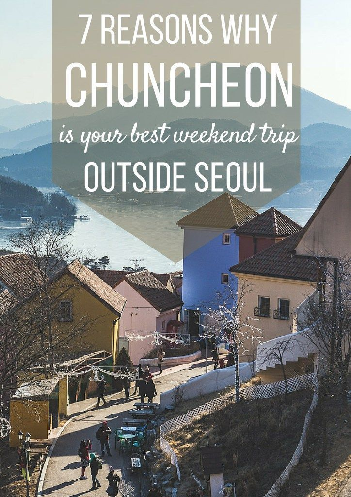 Seoul is one of the world's largest cities and home to 10 million people, sometimes you just have to getaway from the city and enjoy the countryside! Luckily, Chuncheon is accessible via the subway and has plenty of fun activities to enjoy on a weekend!